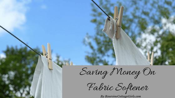 laundry hanging on clothesline Saving money on fabric softener, penny pinching on laundry softener, fabric softener, Soften your laundry on the cheap, save money on your laundry detergents