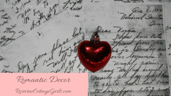 Romantic Decor, Romantic Art, Romantic Wall Art, Creating Wall Art, Creating Valentine Decorations, by Rosevine Cottage Girls