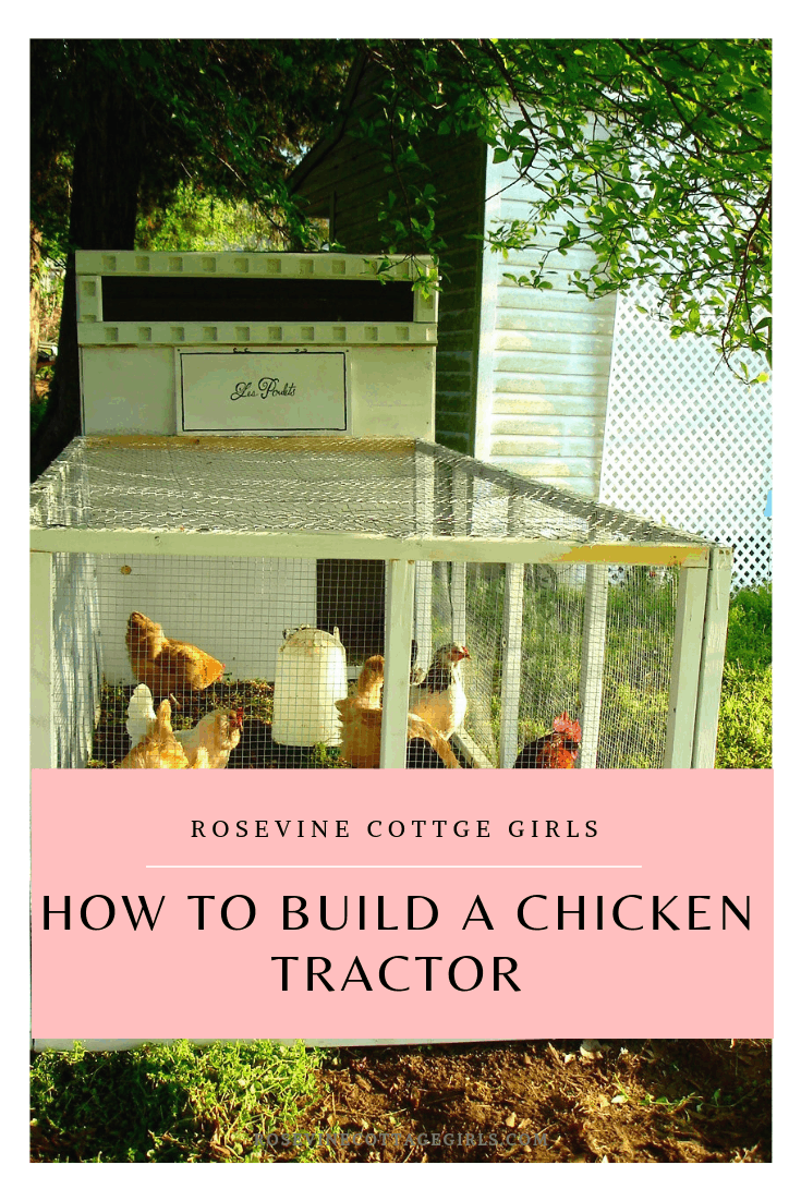 how to build a chicken tractor