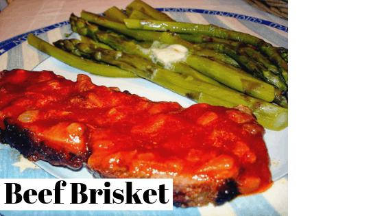 Beef Brisket , grilled beef brisket, how to grill a brisket, how to cook a brisketby rosevine cottage girls