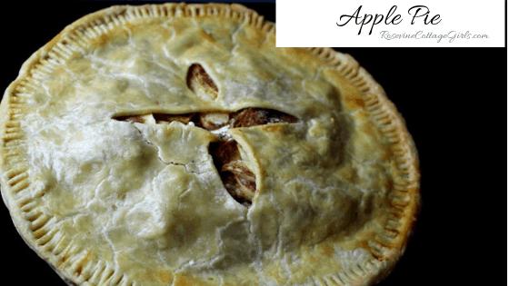 Apple Pie, Apple Pie Recipe, Homemade Apple Pie, Grandma's Apple Pie by Rosevine Cottage Girls
