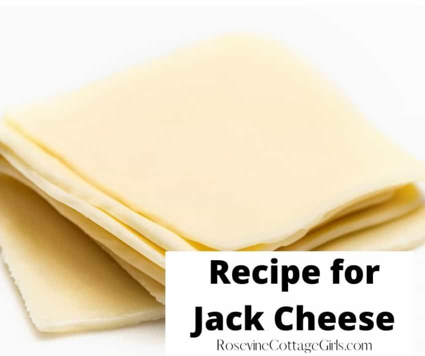 jack cheese recipe | photo of slices of white jack cheese on white surface