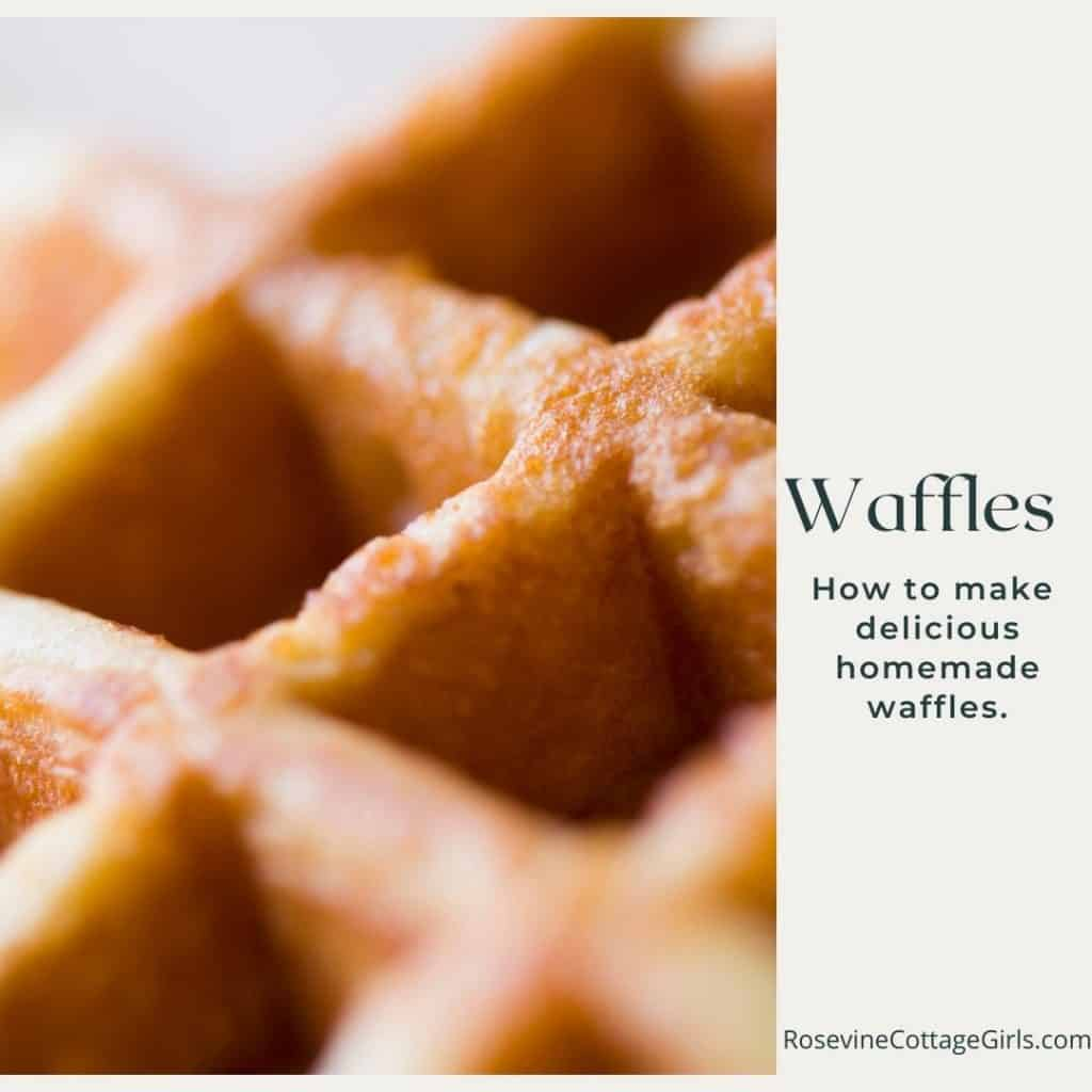 Waffles | photo of a waffle