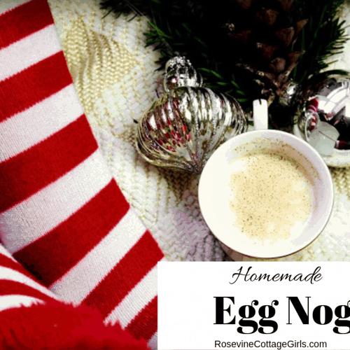 Egg Nog Recipe, Home Made Egg Nog, H