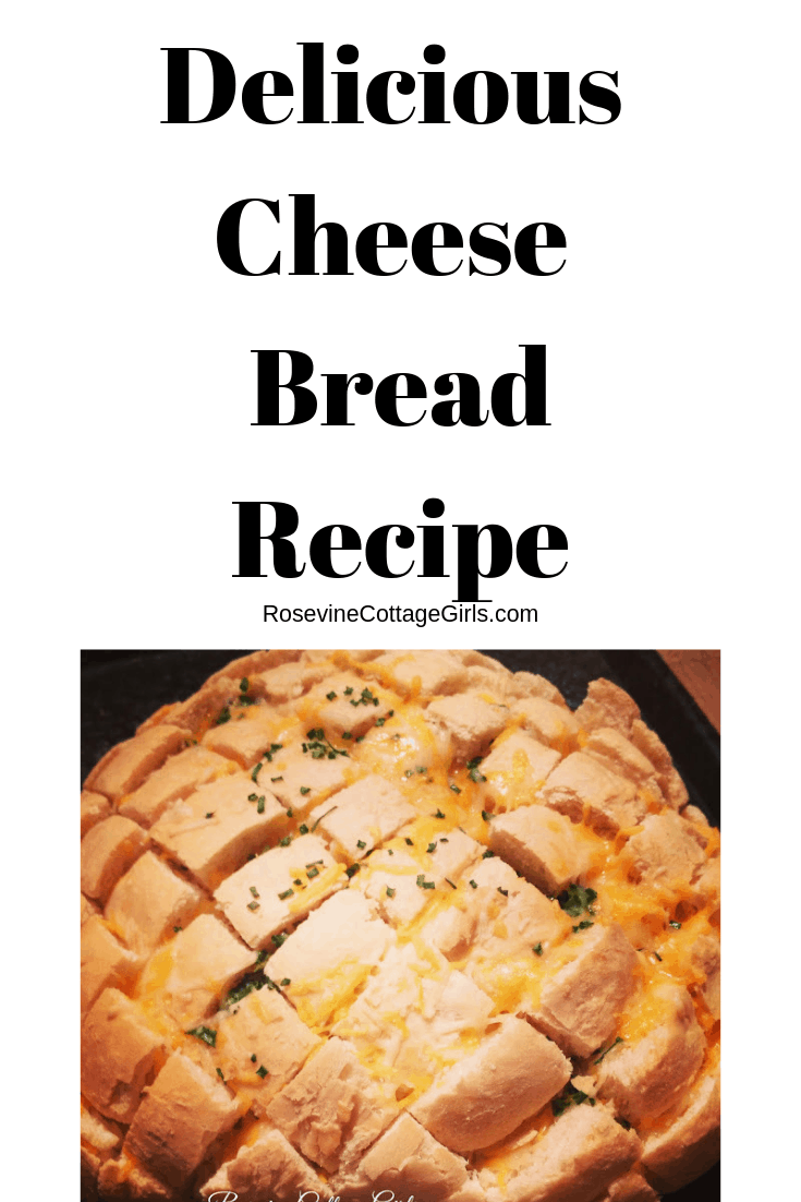 Cheese bread, Cheese and chive bread, delicious cheese bread, the best cheese bread, by rosevine cottage girls