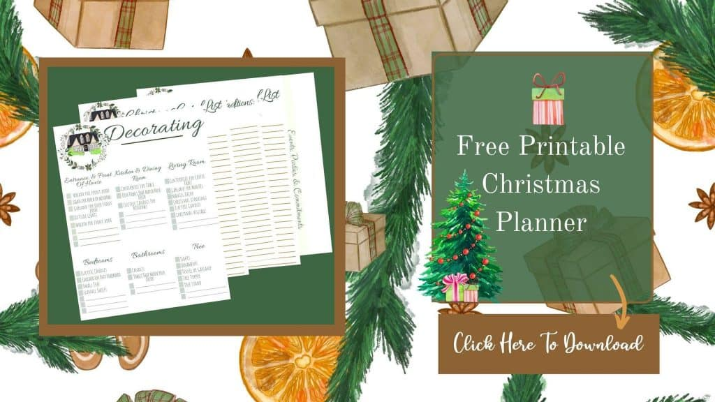 Christmas planner free issue