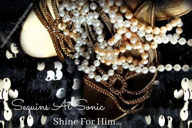 Sequins At Sonic, Shine for Him, A Light On A Hill, Let Your Light Shine by Rosevine Cottage Girls