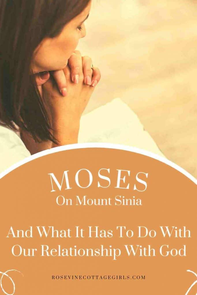 Woman Praying | How Moses On Mount Sinai Can Strengthen Our Relationship With God