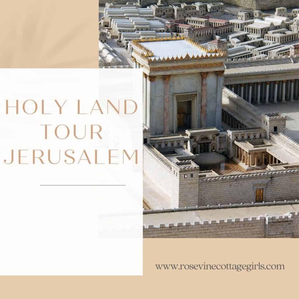 Holy Land Tour Jerusalem | photo of the temple