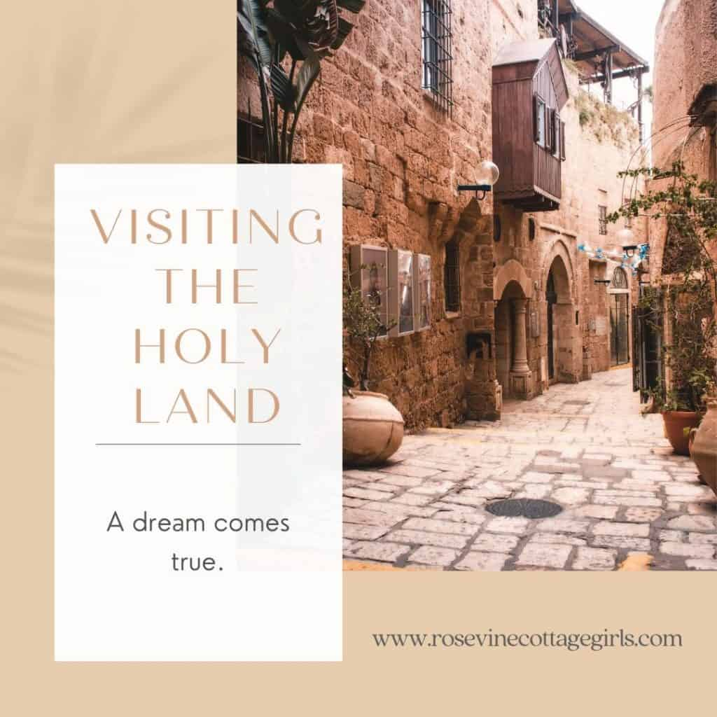 visiting the Holy Land | photo of the streets of Israel