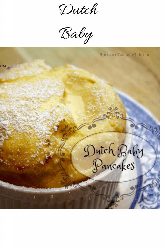 Dutch Baby, Dutch Baby Pancake, Homemade dutch baby, How to make a dutch baby pancake