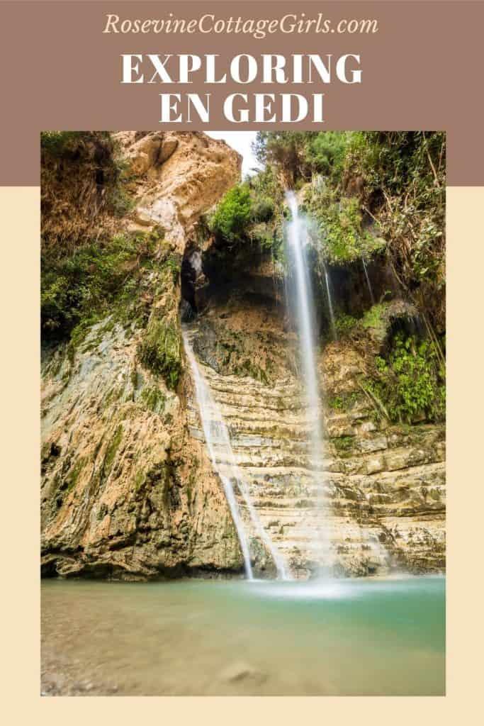 Exploring En Gedi | View of the waterfall of En Gedi Israel