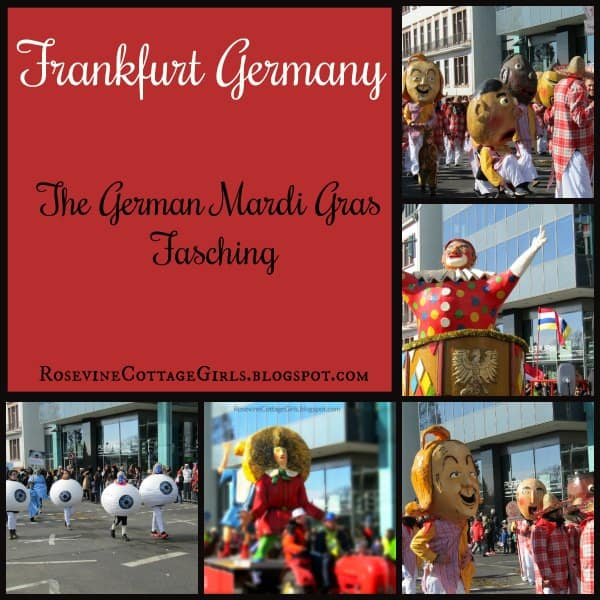 Frankfurt Germany Fasching, Mardi Gras, Fashing