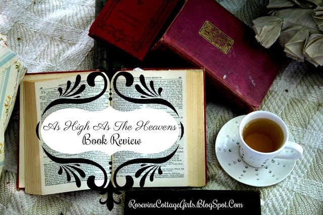 As High As The Heavens Book Review by Rosevine Cottage Girls Kate Breslin Book Review