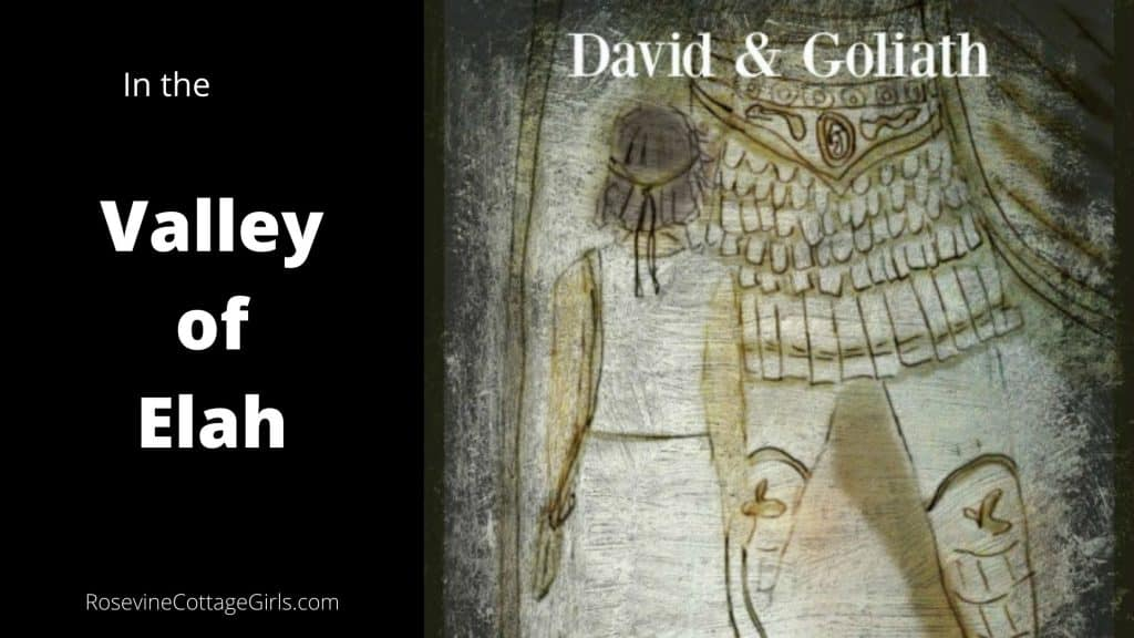 David And Goliath in the Valley of Elah