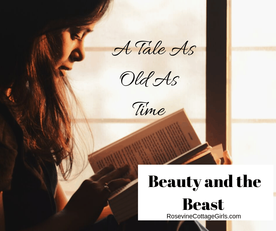 Beauty and the beast, a tale as old as time by rosevine cottage girls