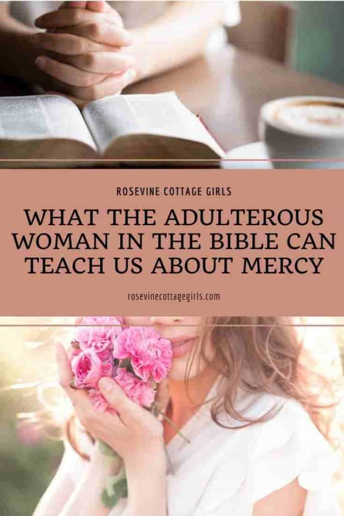 Woman reading her Bible | What The Adulterous Woman In The Bible Can Teach Us About Mercy