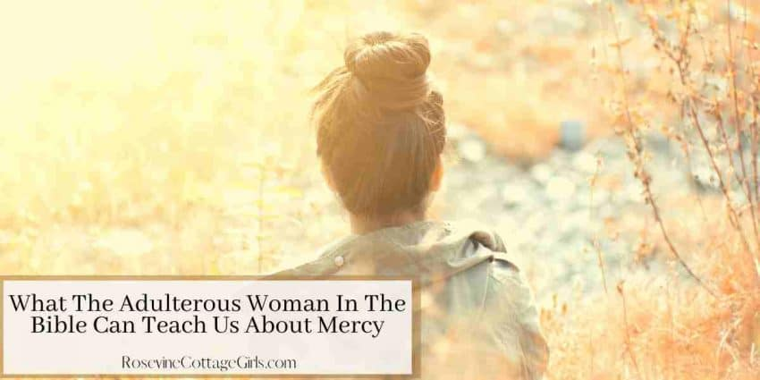 The back of a woman with a bun | What The Adulterous Woman In The Bible Can Teach Us About Mercy