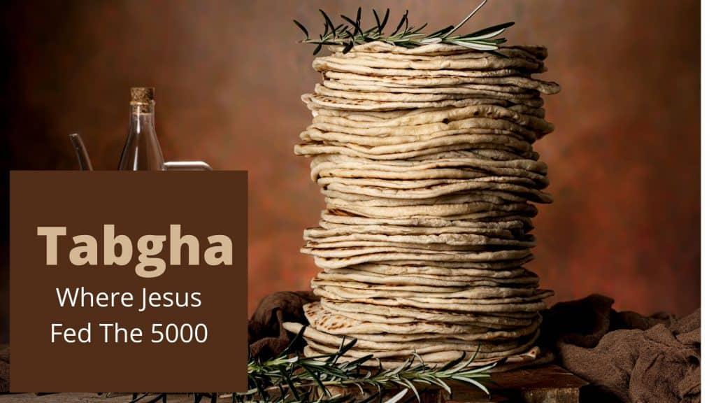 Tabgha where Jesus fed the 5000 people in Tabgha Israel