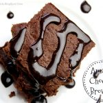 Easy Chocolate Brownies, amazing chocolate brownies, chocolate brownies from scratch, by rosevine cottage girls