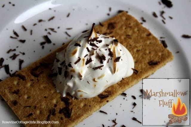 Marshmallow Fluff, homemade marshmallow fluff, by rosevine cottage girls