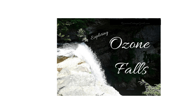 Ozone Falls, Ozone Falls, Tennessee, Waterfalls, Hiking, Adventure, by Rosevine Cottage