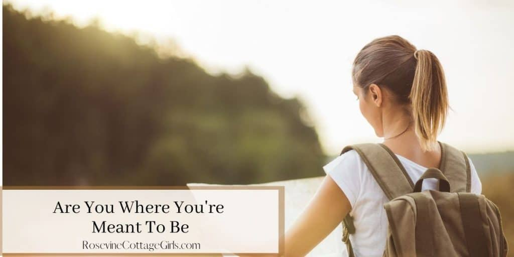 Are you where you're meant to be   woman with a map finding directions