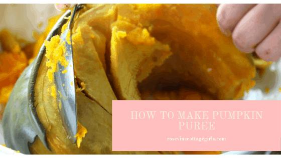 how to make pumpkin puree healthy recipe