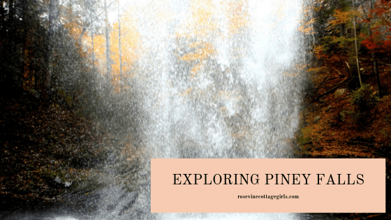 Exploring Tennessee's Piney Falls, Piney Falls Waterfall, Tennessee's Waterfalls, by rosevine Cottage girls.