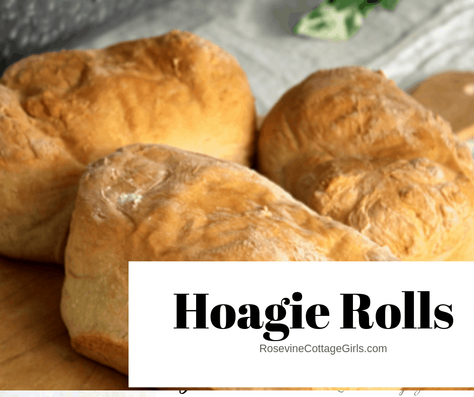 Hoagie Roll, Sandwich Roll, Po Boy Roll, by Rosevine Cottage Girls, Deli Sandwich Roll