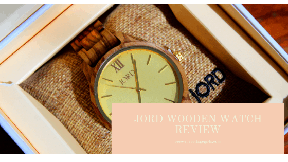 Beautiful handcrafted watch, Jord Wooden Watch Review, Jord Watch, Watch Review, Jewelry Review, (C) Rosevine Cottage Girls