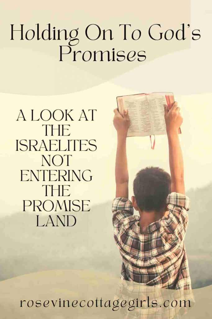 little boy holding up a Bible   holding on God's promises