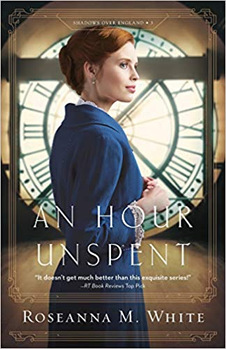 Rosanna M White an hour unspent, book review, Shadows over England, RM White Book