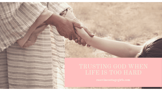 Trusting God When Life Is Too Hard