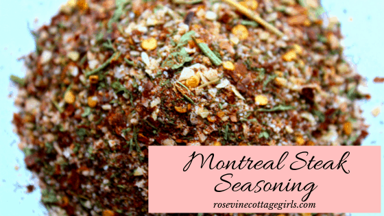 Amazing Montreal Steak & Chicken Seasoning