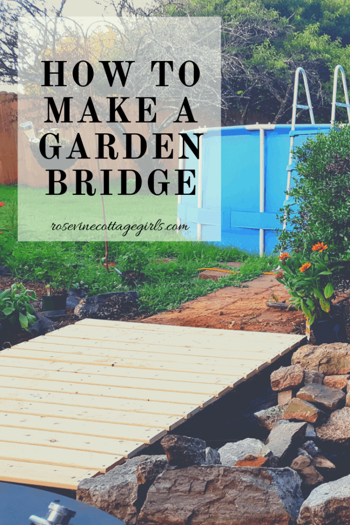 how to build a bridge for you pond or garden