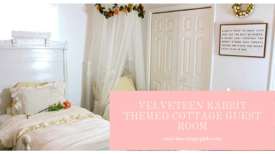 velveteen rabbit guest room
