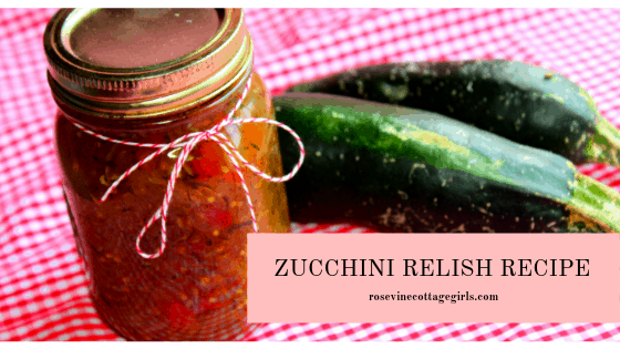 how to make delicious canned zucchini relish at home