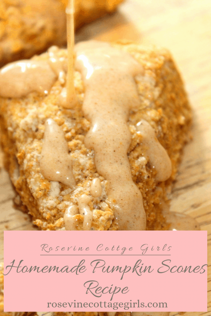 Amazing Classic Pumpkin Scones Recipe #RosevineCottageGirls