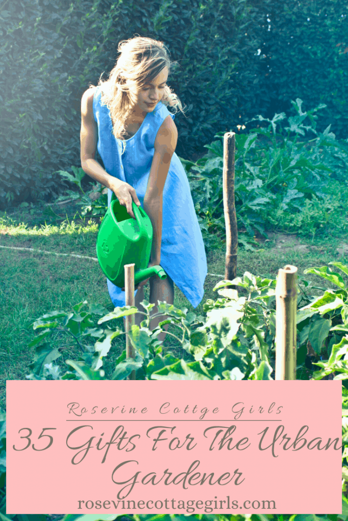 35 gifts for the urban gardener in your life #RosevineCottageGirls