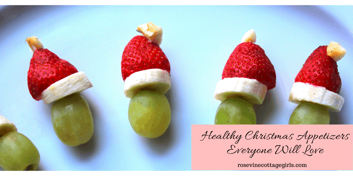 Delicious healthy Christmas appetizers everyone will love