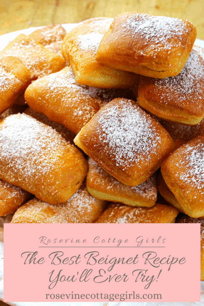 The best beignet recipe that you'll ever try! Slight crunch on the outside and soft on the inside.