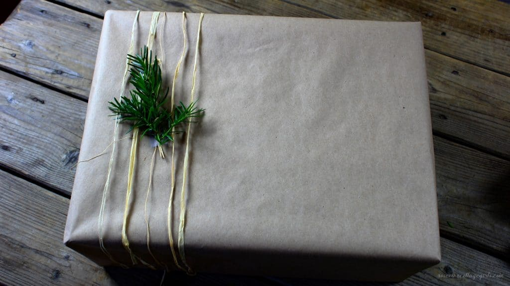 gift wrapping ideas brown paper