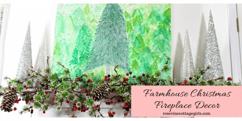 How to decorate a beautiful Christmas mantel