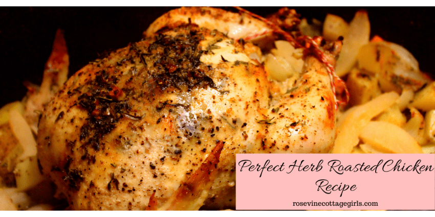 photo of an Herb roasted chicken recipe