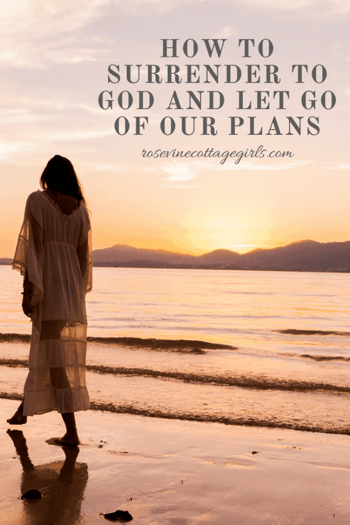 How to surrender to God and let go - 5 life changing ways to let God lead in your life.