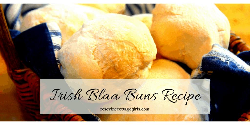 Amazing and easy homemade Irish Blaa Buns recipe #RosevineCottageGirls #IrishRecipes
