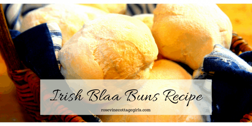 Amazing and easy homemade Irish Blaa Buns recipe #RosevineCottageGirls #IrishRecipes