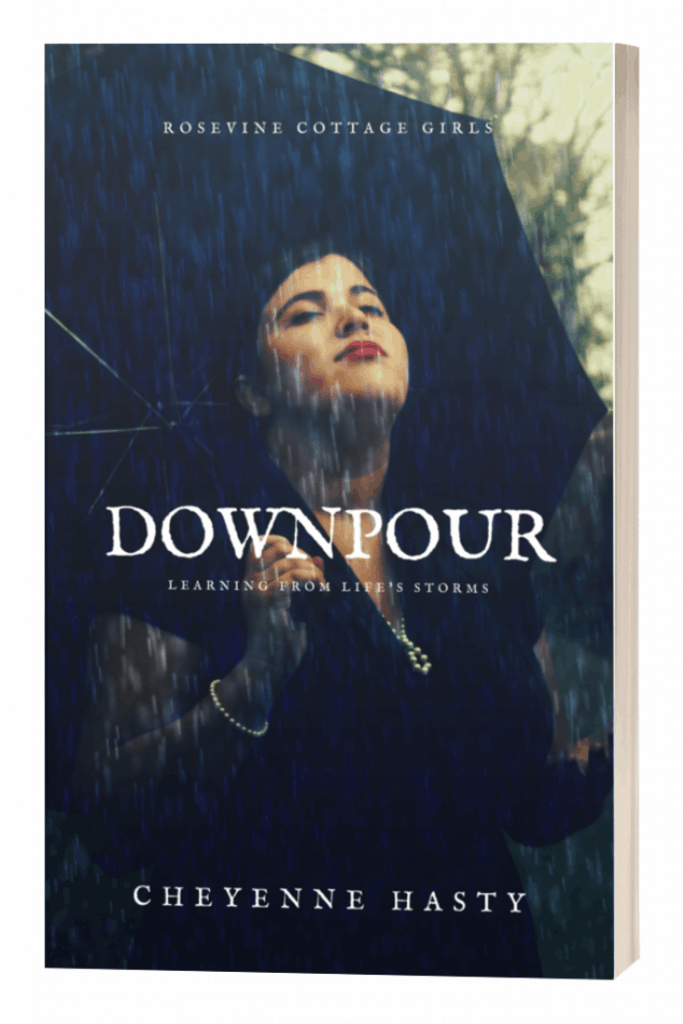 Downpour Learning From Life's storms is a 30 day devotional for the Christian facing a storm, diving into some well-known- and not so known Bible stories as they face their own storms, breathing life into Biblical characters to find hope and truth in the midst of your own storm as we allow God to use the storm as a tool in our lives.
