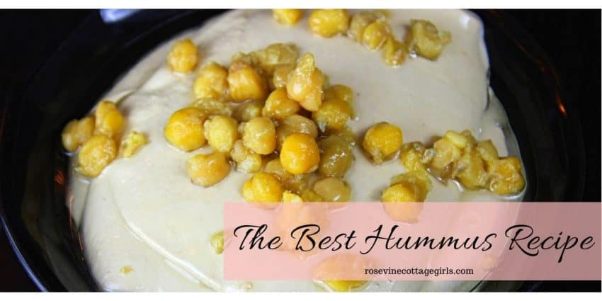 The best homemade hummus recipe - so good you'll never buy it again